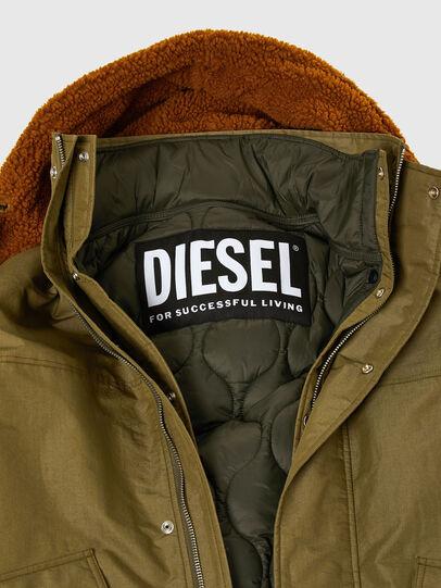 Diesel - W-STEVE, Military Green - Winter Jackets - Image 4