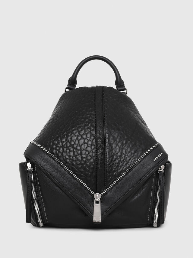 Diesel - LE-MHONIC, Black - Backpacks - Image 1