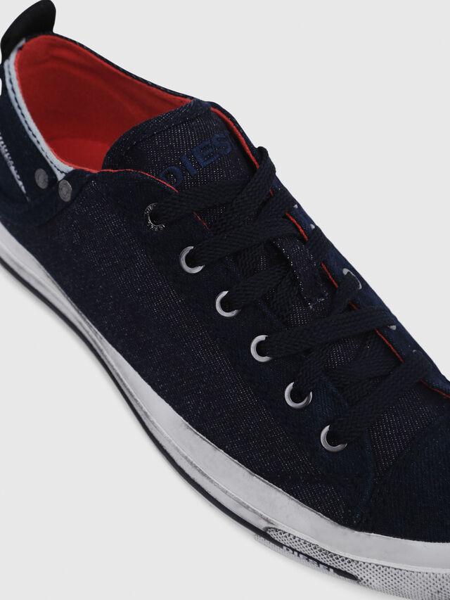Diesel - EXPOSURE IV LOW  W, Dark Blue - Sneakers - Image 4