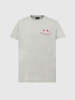 T-DIEGOS-N28, Grey - T-Shirts