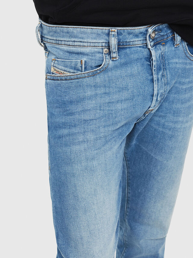 Diesel - Buster 087AQ, Light Blue - Jeans - Image 3