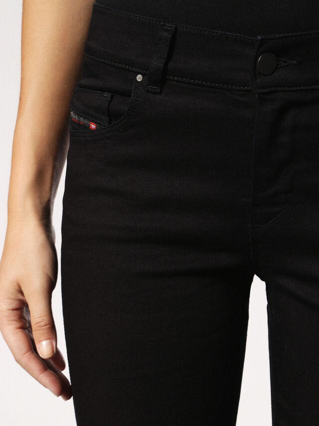 Diesel Sandy 0800R, Black/Dark grey - Jeans - Image 4