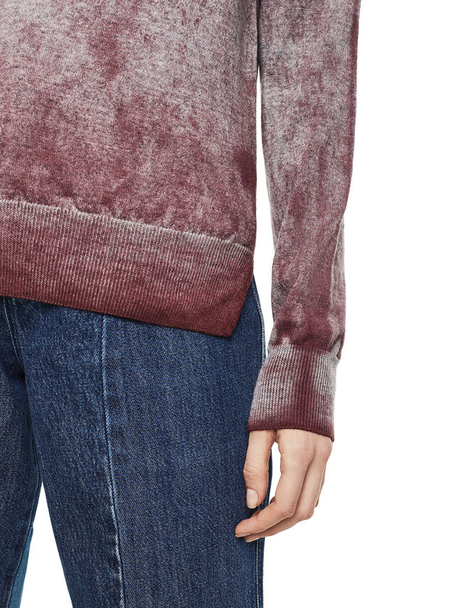 Diesel - MESULF, White/Red - Knitwear - Image 3