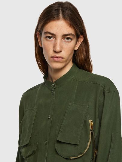 Diesel - C-EILEEN, Olive Green - Shirts - Image 3