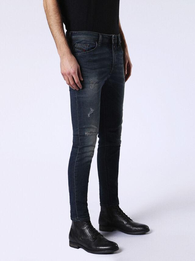 Diesel Spender JoggJeans 0678L, Dark Blue - Jeans - Image 5