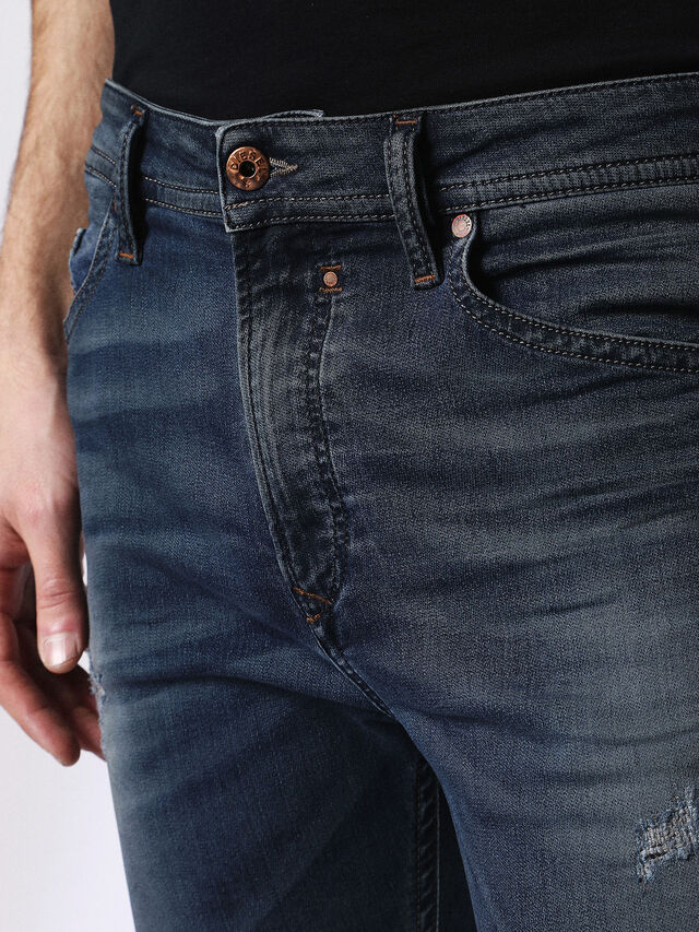 Diesel Spender JoggJeans 0678L, Dark Blue - Jeans - Image 4