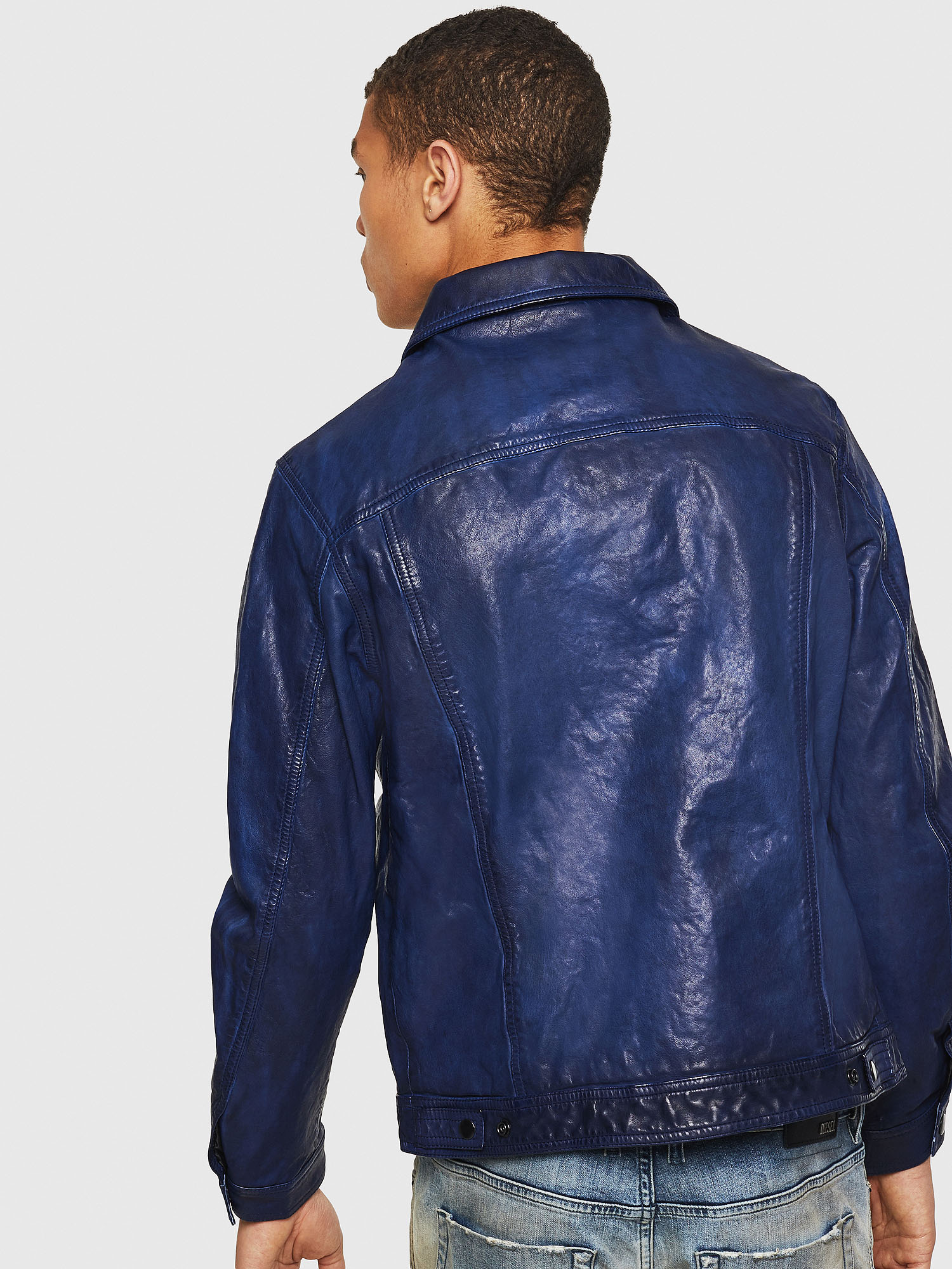 Diesel - L-NHILL,  - Leather jackets - Image 2