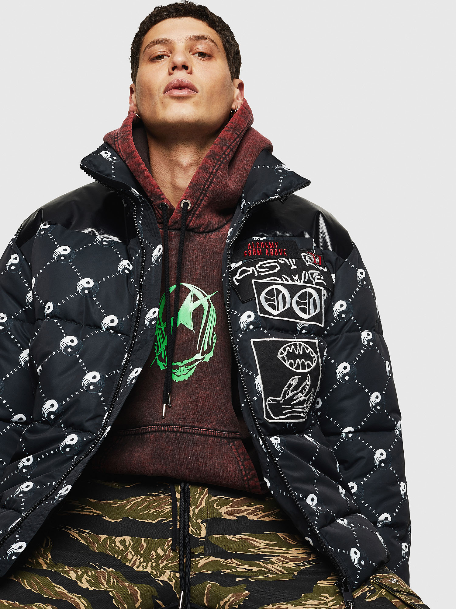 Diesel - W-PIATIG-PEACE,  - Winter Jackets - Image 4