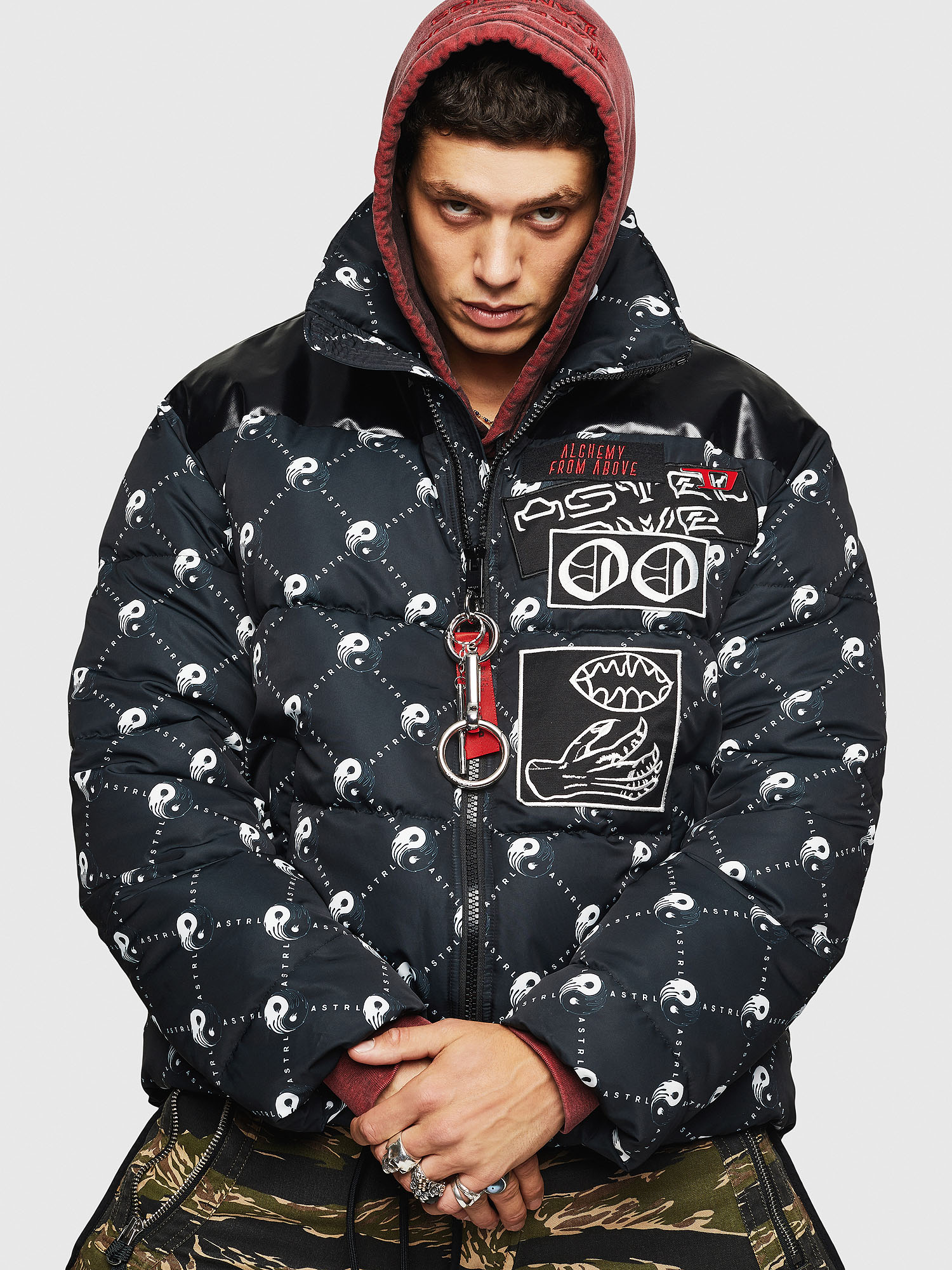 Diesel - W-PIATIG-PEACE,  - Winter Jackets - Image 1