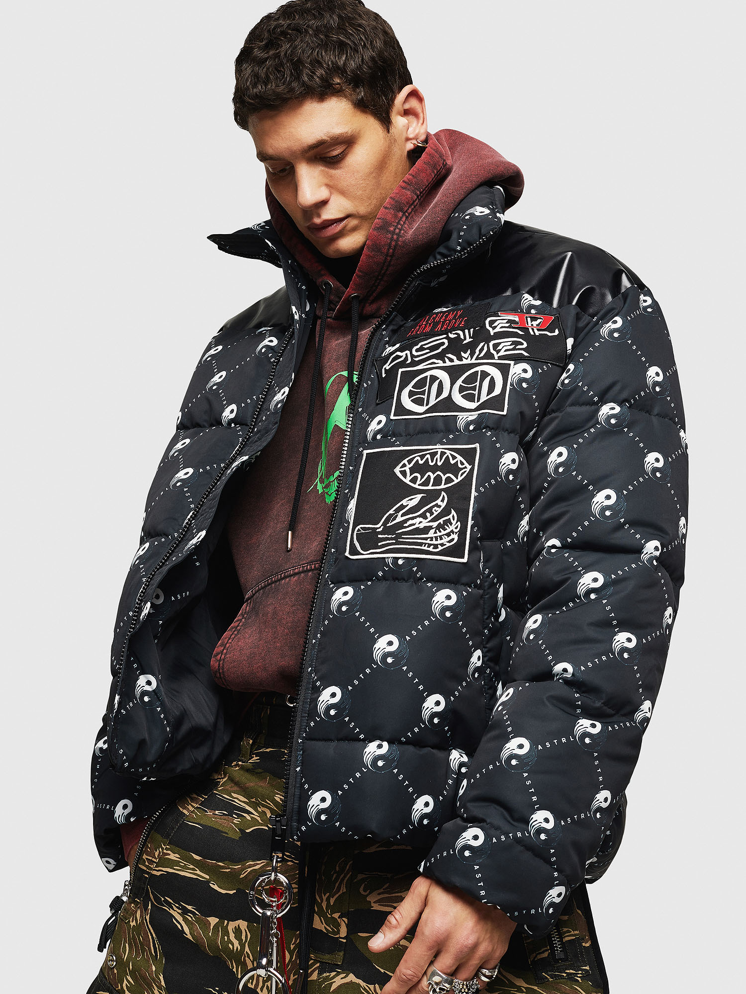 Diesel - W-PIATIG-PEACE,  - Winter Jackets - Image 7