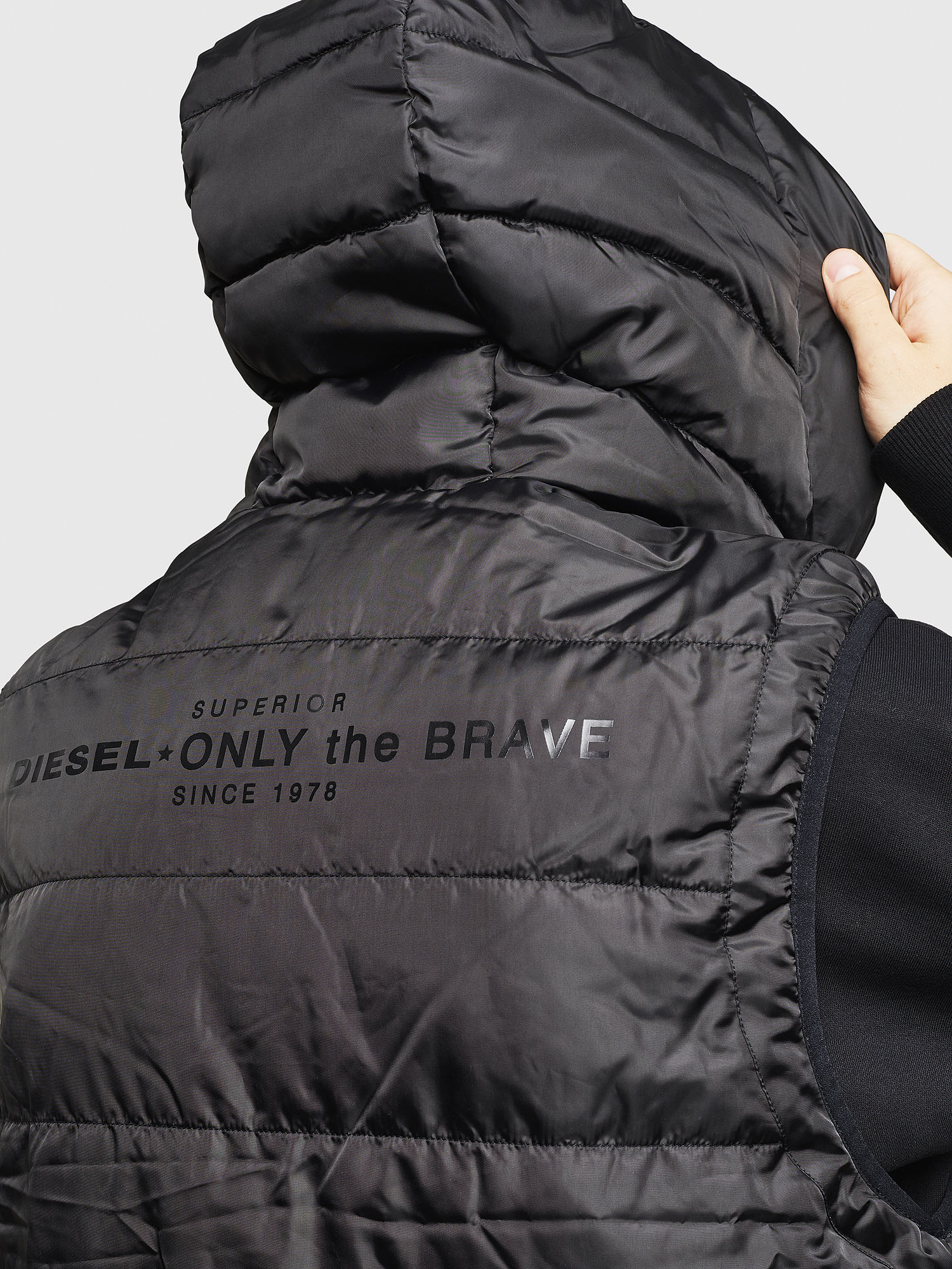 Diesel - W-SUN-REV-SLESS,  - Winter Jackets - Image 3